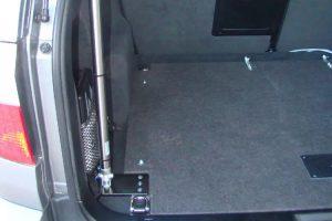 Der Heckklappenöffner für die automatische Öffnung des Kofferraums