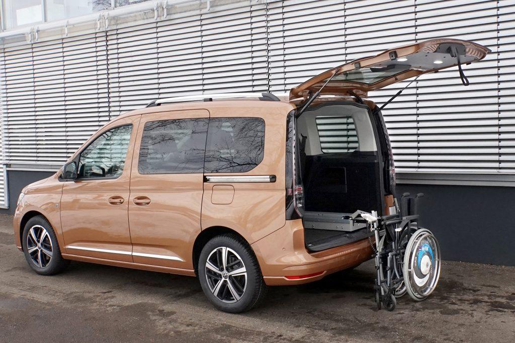 Der LADEBOY Kofferraum im VW Caddy 5