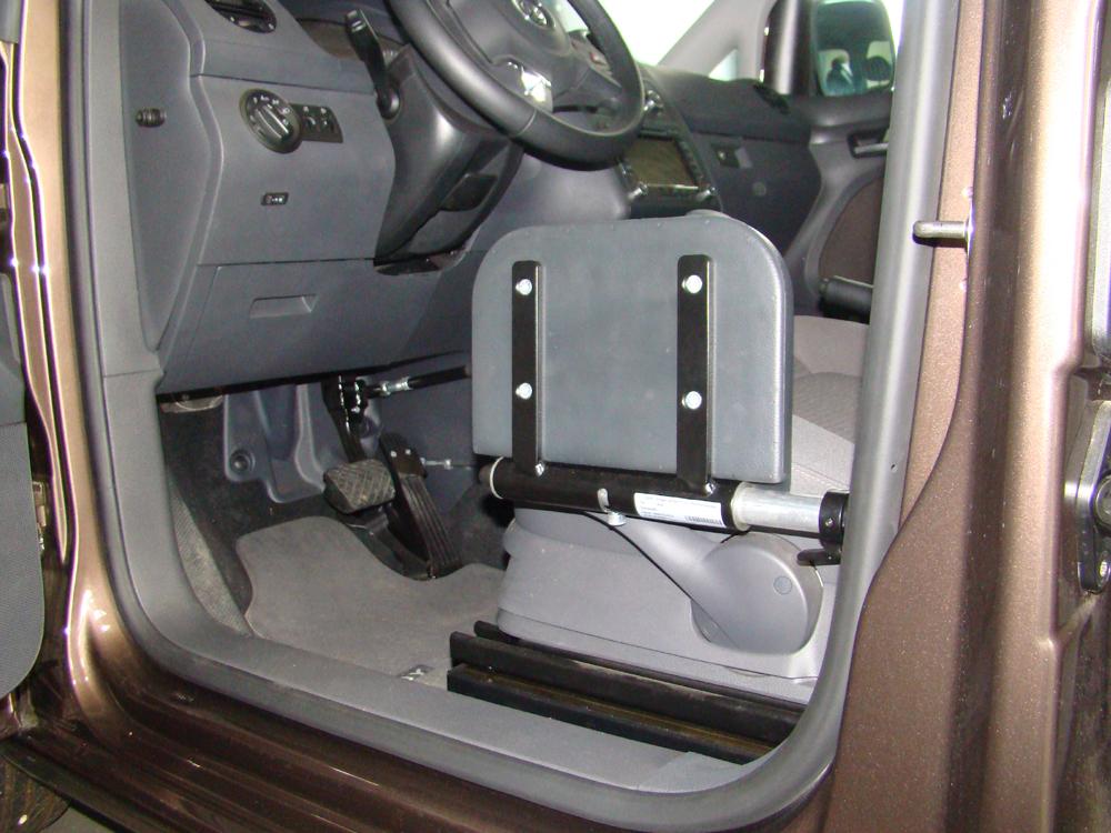 Umsetzhilfe für Behindertengerechten Fahrzeugumbau