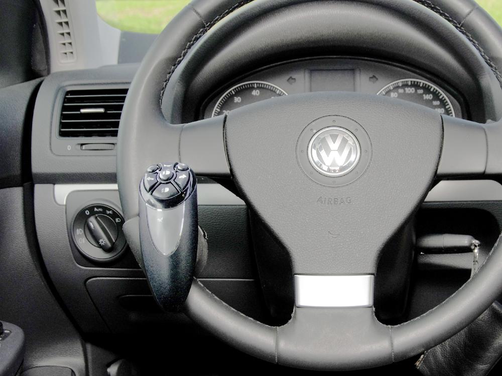 Handbediengerät Lenkok Drehknopf für Behindertengerechten Fahrzeugumbau