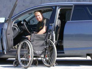 Bedienung des Rollstuhlverladesystems LADEBOY S2