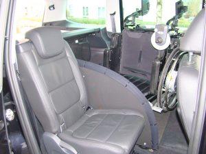 Rollstuhlverladesystem LADEBOY S2 für ungefaltete Rollstühle