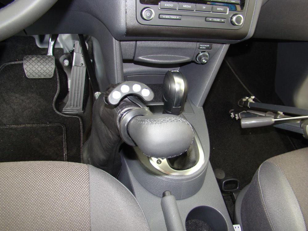 Behindertengerechter Umbau, Handgas im VW Caddy