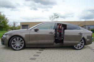 Audi A7 Sportback mit Rollstuhlverladesystem LADEBOY S2