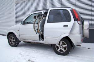 Daihatsu Terios mit Rollstuhlverladesystem LADEBOY S2