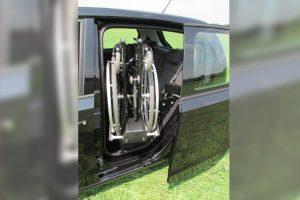 Skoda Citygo mit Rollstuhlverladesystem LADEBOY S2