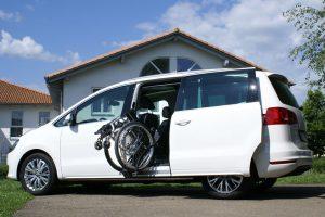 VW Sharan mit Rollstuhlverladesystem LADEBOY S2