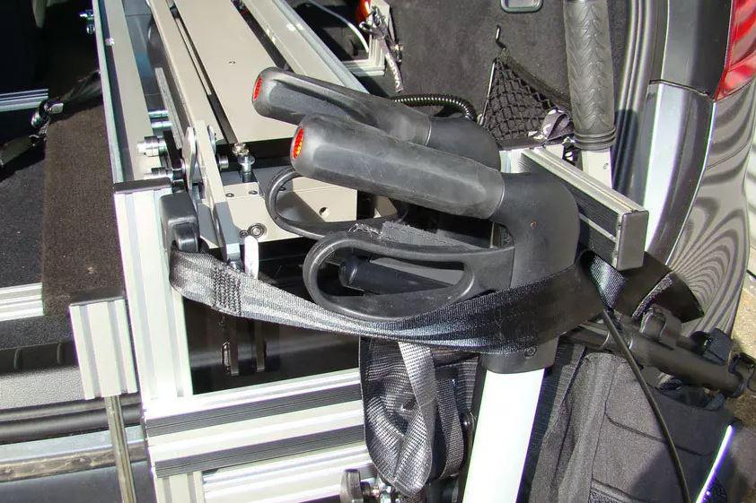 Sicherung des LADEBOY Kofferraum